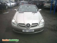 mercedes-benz slk200 kompressor 2.0l