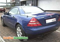 mercedes benz slk 200 a t hard top